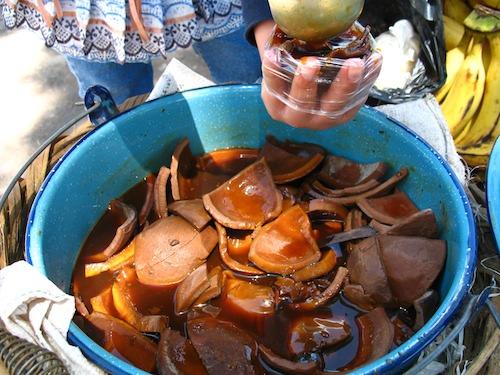 Guatemalan Dessert: Coco en Miel