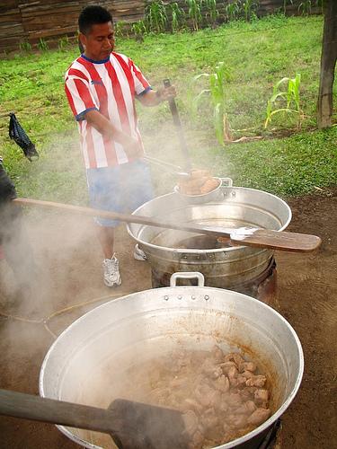 Making Chicharrones, Chicharrines and Carnitas