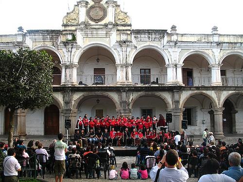 Christmas Carols in Antigua Guatemala