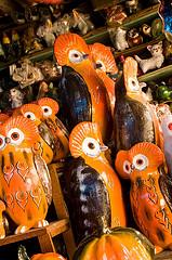 Mercado de San Felipe: Tecolotes