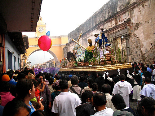Lent's First Sunday Procession