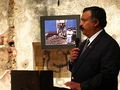 Ciudad Vieja Mayor Speaking