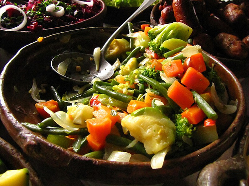 Colorful Guatemalan Vegetables by Rudy Girón
