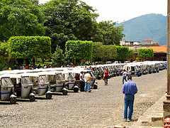 Antigua's Tuk Tuk Fleet by Rudy Girón