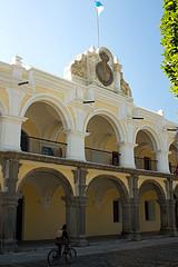 Façade's New Look of Palacio de Los Capitanes by  Rudy Girón