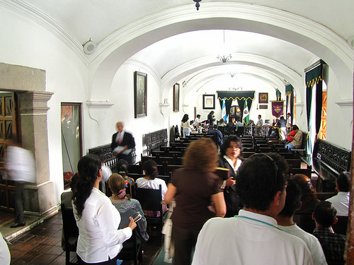 The Mayor's Office at City Hall  by Rudy Girón