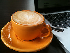 Sunday Mornings Begin with Coffee and Online Newspapers