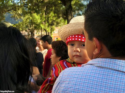 Guatemalan Guadalupano by Rudy A. Girón