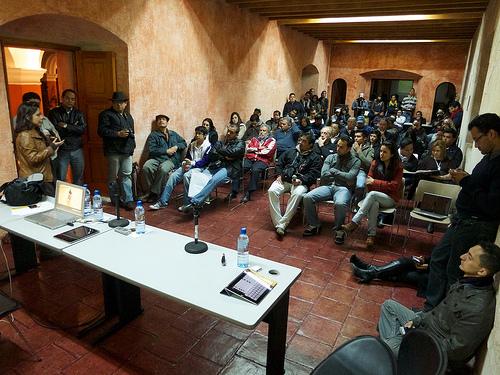 Reunión de 5 de enero 2012 del Club Fotográfico de Antigua 4