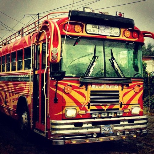 Guatemalan Style School Bus by Rudy Giron