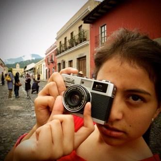 Waiting #3 in Antigua Guatemala by Rudy Girón