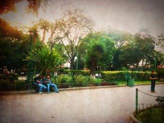 Enjoying a day sans rain by Rudy Girón