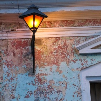 Limestone paint chipped textures of Antigua Guatemala by Rudy Girón