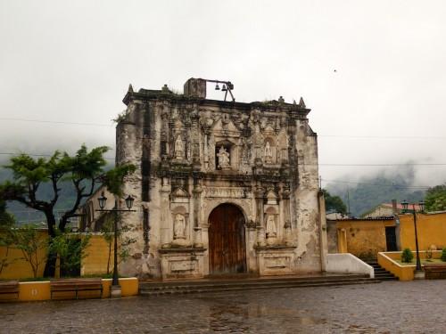 Typical Rainy Season Vista in Antigua Guatemala
