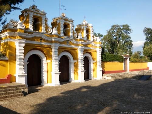 Entrance to Iglesia El Calvario by Rudy Giron