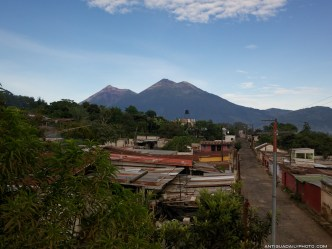 Yes, this is the rainy season in Antigua Guatemala by Rudy Giron