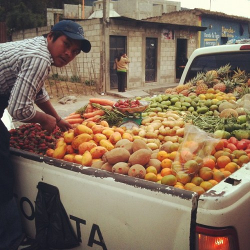 Fruit and Vegetable Ambulant Vendors by Rudy Giron