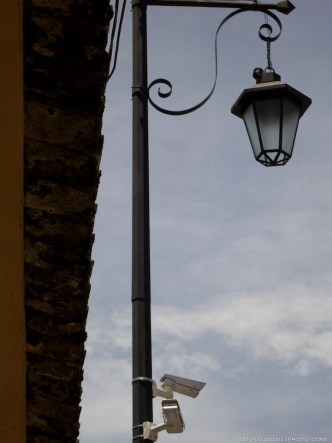 Security Cameras of Antigua's Surveillance System by Rudy Giron