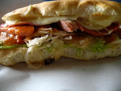 Guatemalan shuco hotdog by Rudy Giron