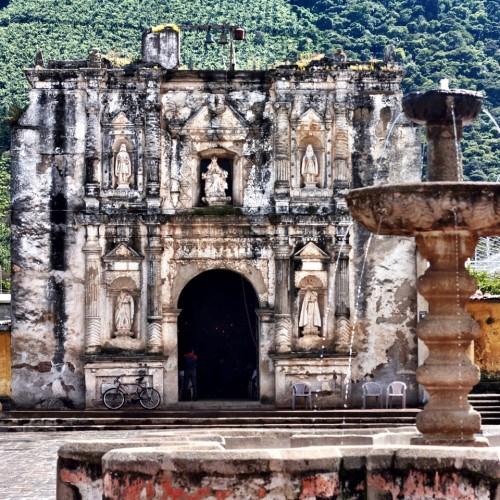 Façade of Iglesia de San Gaspar by Rudy Giron