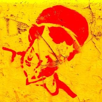 Stencil Art Around Antigua Guatemala by Rudy Giron