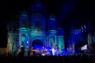 Photos of Julian Marley's Reggae Concert in Antigua Guatemala by Nelo Mijangos