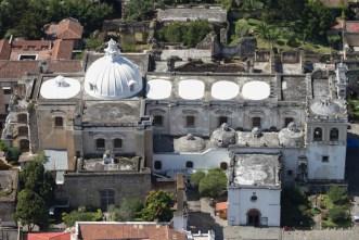 Iglesia de San Francisco El Grande as seen from the sky by Nelo Mijangos