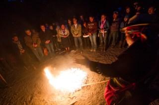 13 Baktun Ceremony at Cerro de la Cruz by Nelo Mijangos