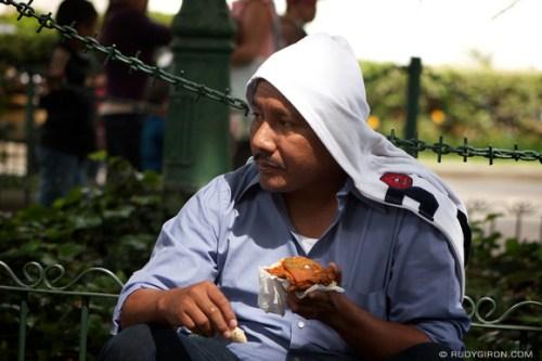 Rudy Giron: AntiguaDailyPhoto.com &emdash; Fried Chicken at the Park