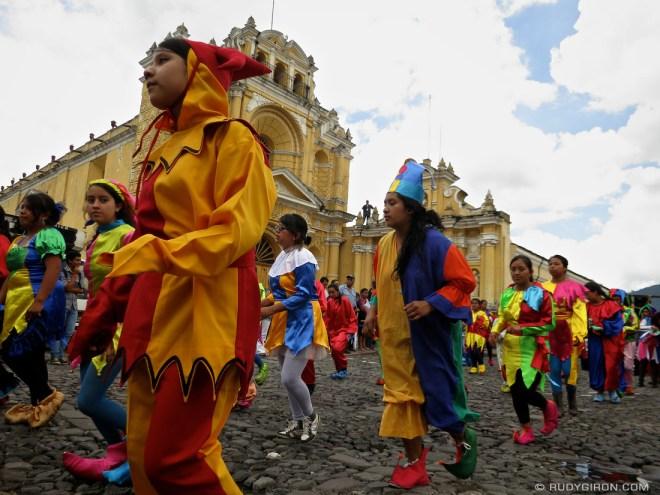 Rudy Giron: AntiguaDailyPhoto.com &emdash; School Anniversary Parade