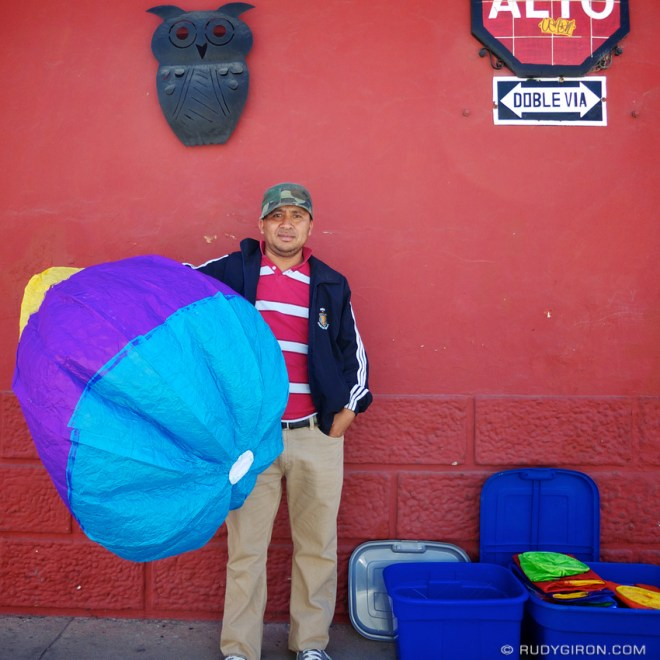 Rudy Giron: AntiguaDailyPhoto.com &emdash; Paper Globes For Sale in Antigua Guatemala