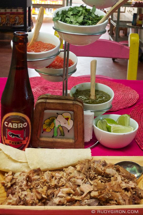 Rudy Giron: AntiguaDailyPhoto.com &emdash; Mexican Carnitas in Antigua Guatemala