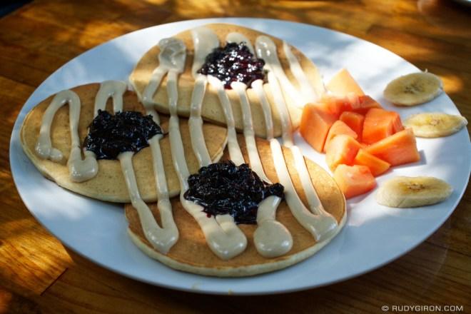 Rudy Giron: AntiguaDailyPhoto.com &emdash; Macadamia Pancakes in Antigua Guatemala