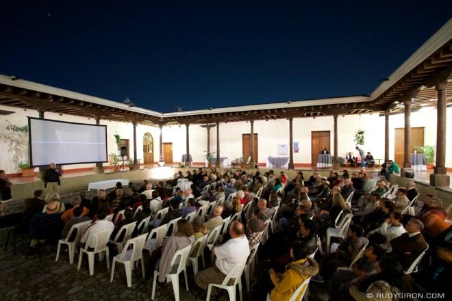 Rudy Giron: Screening of Dance of the Maize God in Antigua Guatemala &emdash;
