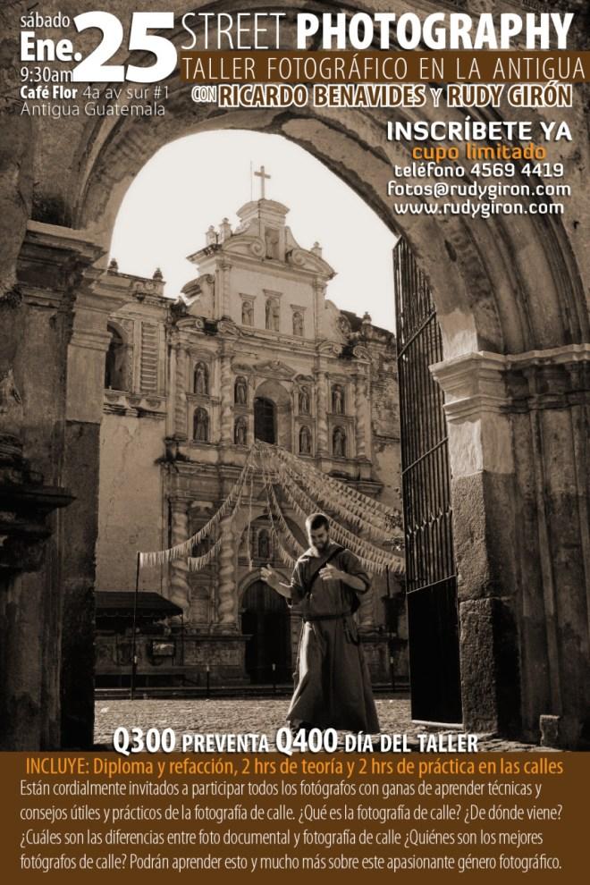Street Photography Workshops in Antigua Guatemala