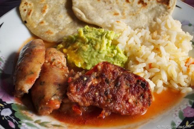 Rudy Giron: AntiguaDailyPhoto.com &emdash; Guatemalan Longaniza Lunch