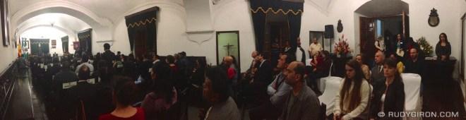 Rudy Giron: AntiguaDailyPhoto.com &emdash; Municipal Session for the 471st Anniversary of Antigua Guatemala