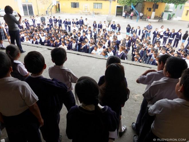 Rudy Giron: AntiguaDailyPhoto.com &emdash; Learning Civics in Antigua Guatemala