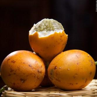 Guatemalan Fruit: Granadilla by Rudy Giron