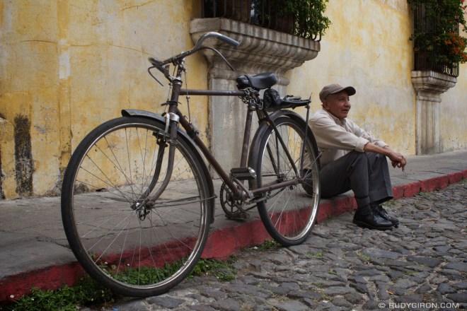 Rudy Giron: Antigua Guatemala &emdash; My bicycle takes me everywhere in Antigua Guatemala