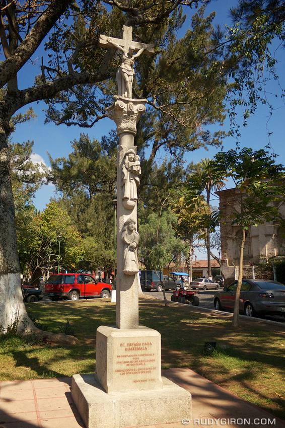 Rudy Giron: Antigua Guatemala &emdash; Monument from Santiago de Compostella