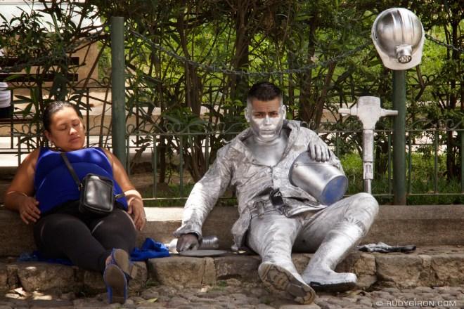 Rudy Giron: Antigua Guatemala &emdash; Antigua Street Performer: The Miner