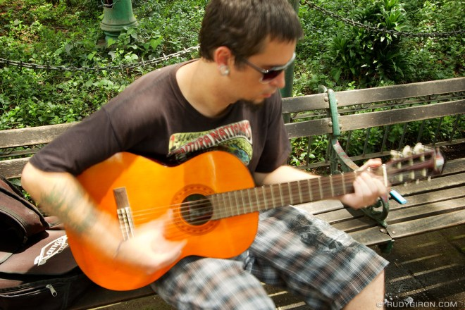 Rudy Giron: Antigua Guatemala &emdash; Play the funky music white boy
