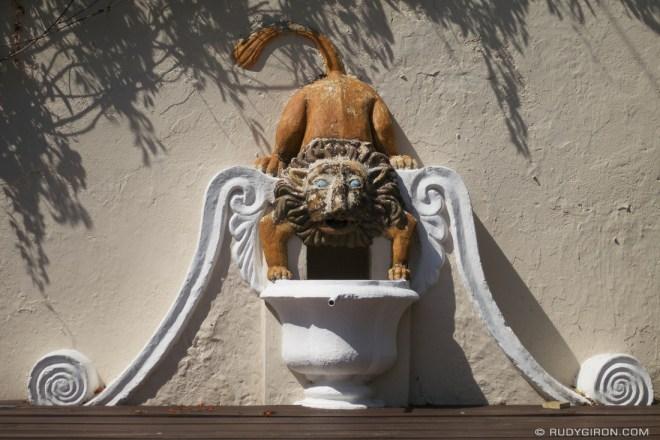 Rudy Giron: Antigua Guatemala &emdash; Lion Bucaro Fountain from Antigua Guatemala