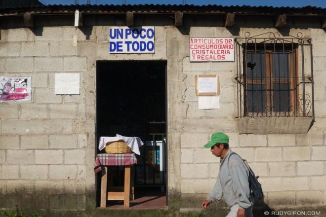 Rudy Giron: Antigua Guatemala &emdash; Un Poco de Todo Convenience Store