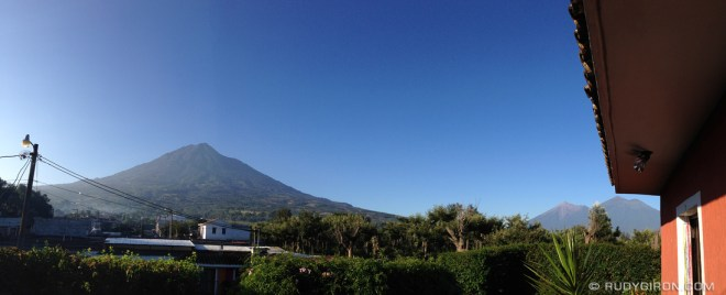 Rudy Giron: Antigua Guatemala &emdash; Gorgeous Morning During Fall in Antigua Guatemala