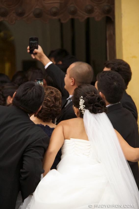 Rudy Giron: Antigua Guatemala &emdash; The Wedding Selfie