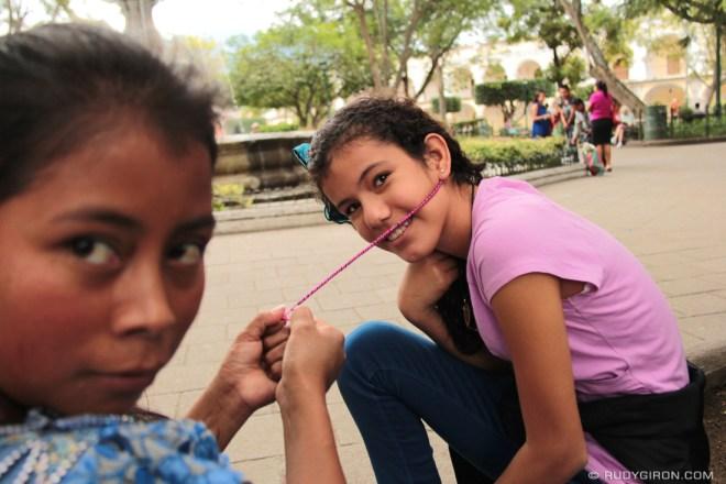 Rudy Giron: Antigua Guatemala &emdash; Scenes from Central Park, Antigua Guatemala