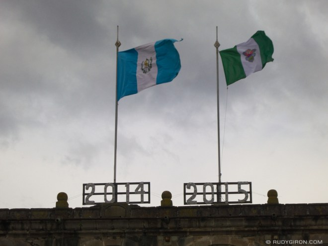 Rudy Giron: Antigua Guatemala &emdash; Goodbye 2014, Welcome 2015