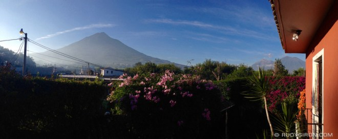 Rudy Giron: Antigua Guatemala &emdash; Typical Morning in Antigua Guatemala During The Dry Season